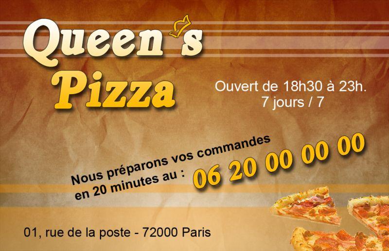 AK Graph Carte Pour Pizzeria